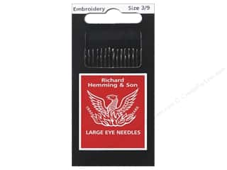 Hemming Needle Crewel/Embroidery Size 3/9 15pc