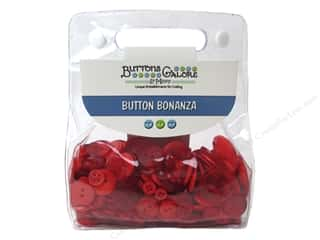 cover button: Buttons Galore Button Bonanza 1/2 lb. Fire Engine Red