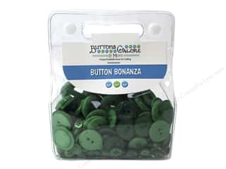 Button: Buttons Galore Button Bonanza 1/2 lb. Green