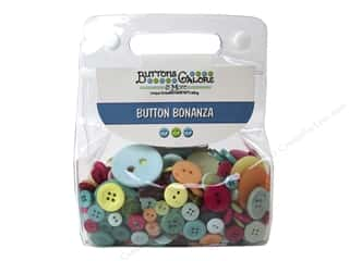 cover button: Buttons Galore Button Bonanza 1/2 lb. Summertime