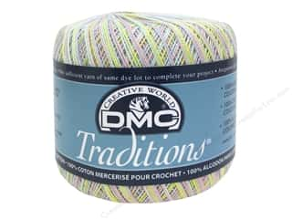 Yarn: DMC Traditions Crochet Cotton 350 yd Varigated Pastel