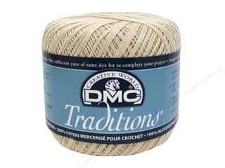 yarn & needlework: DMC Traditions Crochet Cotton 350 yd Ecru