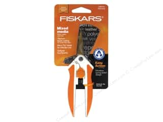 Scissors: Fiskars No. 5 Titanium Micro-Tip Easy Action Scissors