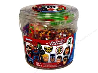 Weekly Specials Beadalon Bead Boards: Perler Fused Bead Kit Justice League