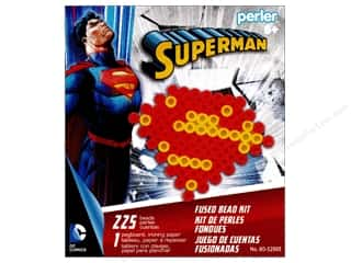 beading & jewelry making supplies: Perler Fused Bead Kit Superman