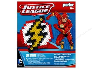 beading & jewelry making supplies: Perler Fused Bead Kit Justice League Flash