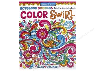 books & patterns: Design Originals Notebook Doodles Color Swirl Coloring Book