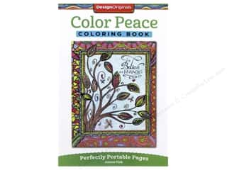 books & patterns: Design Originals Color Peace Coloring Book