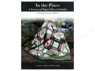 Clearance: In the Pines - A Forest of Paper-Pieced Quilts: 12 Easy & Accurate Patterns Book by Carolyn Cullinan McCormick