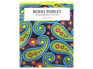 Design Originals Boho Paisley Coloring Book