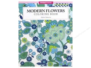 books & patterns: Design Originals Modern Flowers Coloring Book