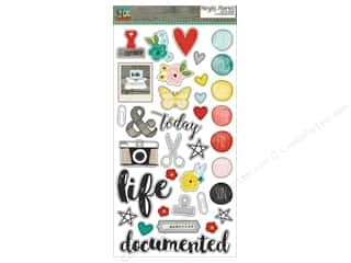 """Simple Stories: Simple Stories Collection Life In Color Chipboard 6""""x 12"""""""