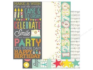 Simple Stories 12 x 12 in. Paper Let's Party Page Element (25 sheets)