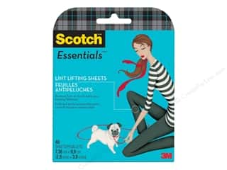 Novelties: Scotch Essentials Lint Lifting Sheets Pocket Pack
