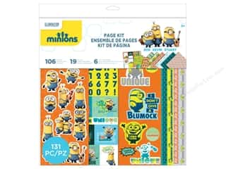 "projects & kits: EK Page Kits Minions 12""x 12"""