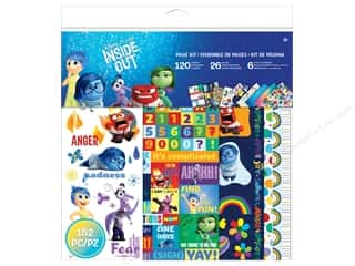 "scrapbooking & paper crafts: EK Page Kits Disney Inside Out 12""x 12"""