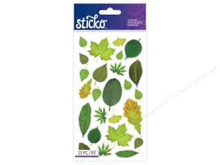 EK Sticko Stickers Classic Leaves