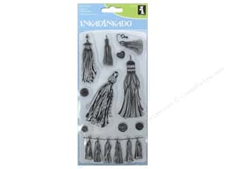 Inkadinkado Clear Stamp Set Tassels