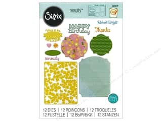 oval dies: Sizzix Thinlits Die Set 11 pc. Card Basics