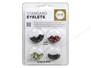 scrapbooking & paper crafts: We R Memory Keepers Standard Eyelets 60 pc. Warm Metal