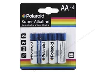 Polaroid Super Alkaline Batteries Super AA 4pc