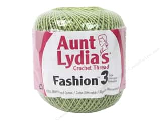 Aunt Lydia's Fashion Crochet Thread Size 3 150 yd. #264 Lime