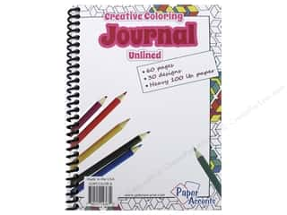 Paper Accents Creative Coloring Journal 5 x 7 in. Unlined