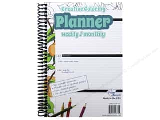 binders: Paper Accents Creative Coloring Weekly/Monthly Planner