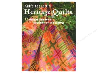 heritage timing: Taunton Press Kaffe Fasset's Heritage Quilts Book