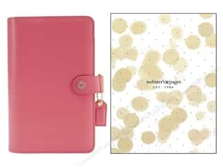 scrapbooking & paper crafts: Webster's Pages Color Crush A5 Binder Light Pink