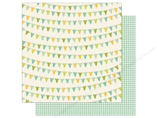 Clothesline, The: Carta Bella 12 x 12 in. Paper It's A Boy Baby Boy Onesies (25 sheets)
