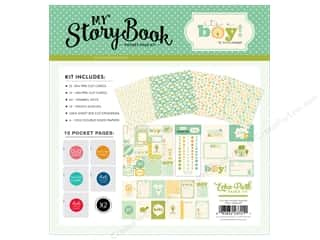 "Carta Bella Collection It's A Boy Pocket Page Kit 12""x 12"" Picture"