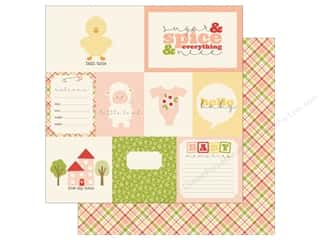 Carta Bella 12 x 12 in. Paper It's A Girl Journaling Cards Picture