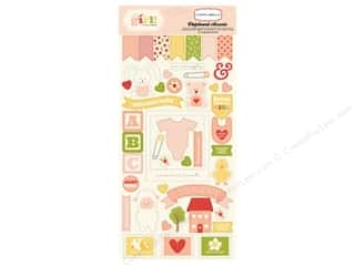 Carta Bella Chipboard Accents It's A Girl Picture