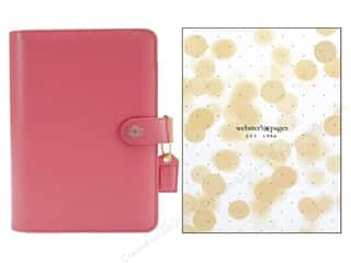 scrapbooking & paper crafts: Webster's Pages Color Crush 2016 A5 Planner Kit Light Pink