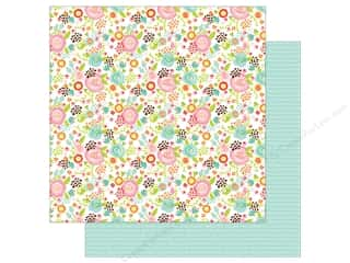 scrapbooking & paper crafts: Echo Park 12 x 12 in. Paper Spring Collection Fancy Floral (25 sheets)