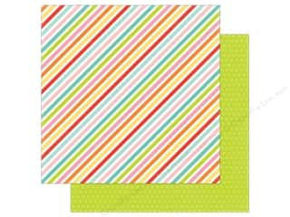 Echo Park 12 x 12 in. Paper Spring Collection Sparkling Stripe Picture