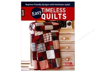 books & patterns: Easy Timeless Quilts Book by Leisure Arts