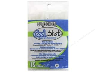 Surebonder LowTemp Cool Shot Glue Stick Mini 4 in. Translucent