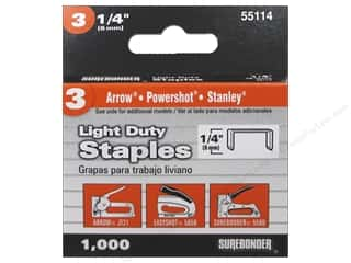 "Surebonder Staples Light Duty #3 1/4"" 1000pc"