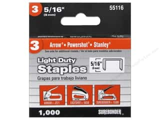 craft & hobbies: Surebonder Staples Light Duty #3 5/16 in.  1000pc