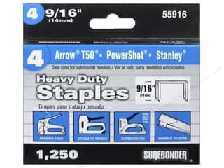 "Surebonder Staples Heavy Duty 4#  9/16"" 1250pc"