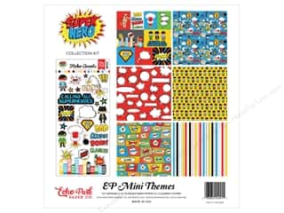 Clearance Echo Park Collection Kit: Echo Park 12 x 12 in. Collection Kit Superhero