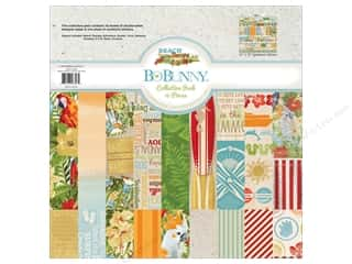 Clearance Bo Bunny Paper Collection Packs: Bo Bunny 12 x 12 in. Collection Pack Beach Therapy