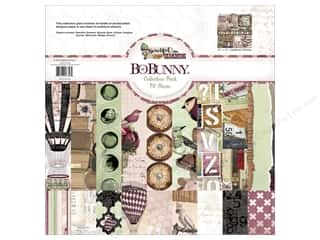 Clearance Bo Bunny Paper Collection Packs: Bo Bunny 12 x 12 in. Collection Pack Beautiful Dreamer
