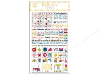 stickers: Bo Bunny Clear Stickers Play Time