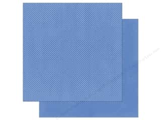 scrapbooking & paper crafts: Bo Bunny 12 x 12 in. Paper Double Dot Periwinkle (25 sheets)
