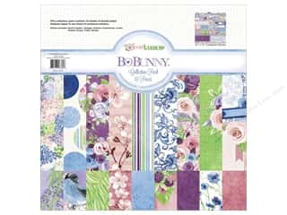 Clearance Bo Bunny Paper Collection Packs: Bo Bunny 12 x 12 in. Collection Pack Secret Garden