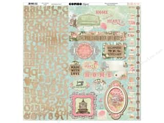 theme stickers  floral: Bo Bunny Stickers Soiree Combo (12 sheets)