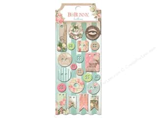 Novelty Buttons: Bo Bunny Buttons 21 pc. Soiree